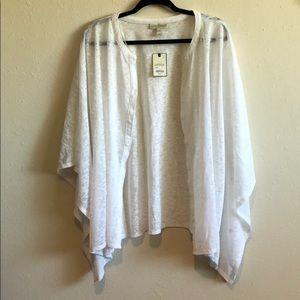 White sweater/shrug